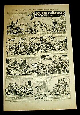 The Royal Marines Escape From Crete  Ww2 1941 Stunning Storyboard Feature 1965 • 1.99£