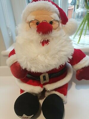 Tesco Chilly And Friends Soft Toy Plush Santa Father Christmas 20  Vgc • 16.50£