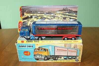Corgi Major Toys No. 1137 Ford Tilt Cab Express Service Truck In Original Box • 25£