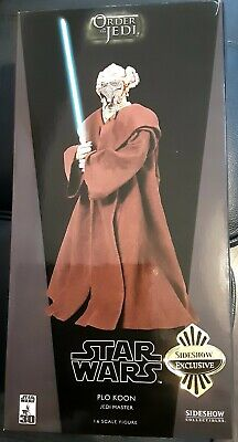 Sideshow Collectables Star Wars Plo Koon Jedi Master Exclusive 1:6 • 72£