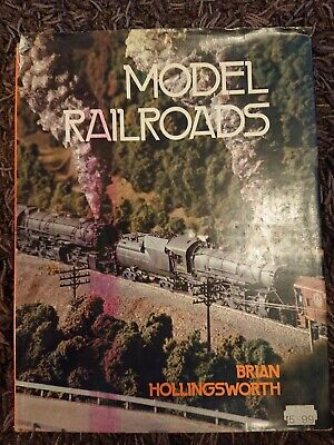 Model Railroads Railway Hardback Book By Brian Hollingsworth • 1£
