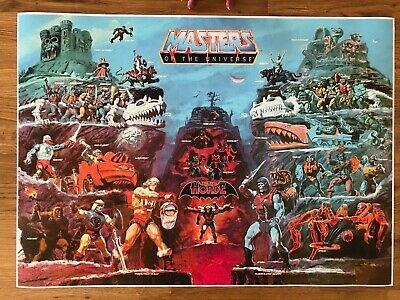 $5.48 • Buy He-Man Masters Of The Universe Poster 590mm X 420mm