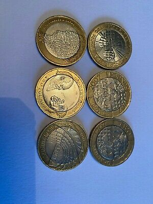 Rare 2 Pound Coin Job Lot • 20£