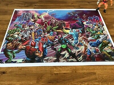 $5.48 • Buy He-Man Masters Of The Universe Poster 610mm X 420mm