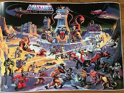 $5.48 • Buy He-Man Masters Of The Universe Poster 594mm X 420mm (A2)