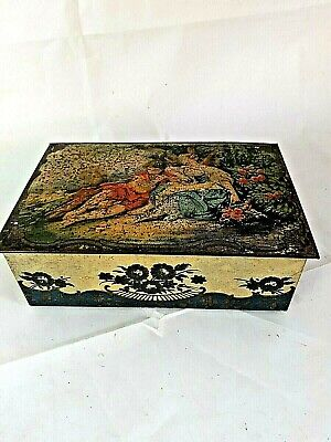 Vintage John Mackintosh & Sons Sweet Tin Biscuit Rare Tudor Scene • 10.99£