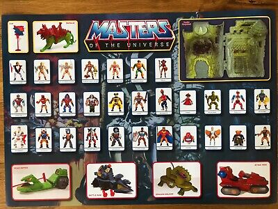 $4.80 • Buy He-Man Masters Of The Universe Figure Heroes Checklist Poster  590x420mm (A2)