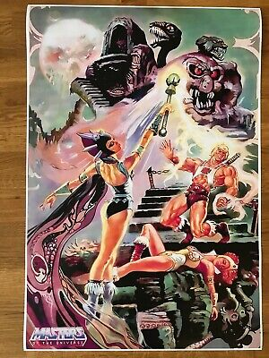 $4.80 • Buy He-Man Masters Of The Universe Poster 620mm X 430mm