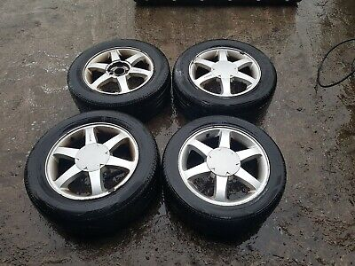 Ford Cougar Alloy Wheels And Tyres  Trailer  • 40£