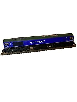 Dapol N Gauge Class 66 Bardon Aggregates Livery DCC Fitted • 115£