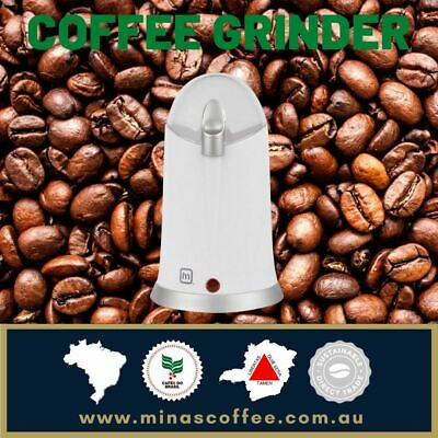 AU25 • Buy Anko Electric Coffee Grinder White Bean Nut Spice Herb Grinding Mill Machine New