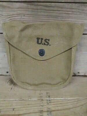 $98.98 • Buy Authentic Pre Wwii Ww2 Unissued Usmc Airborne L Type Khaki Od3 Belt Pouch