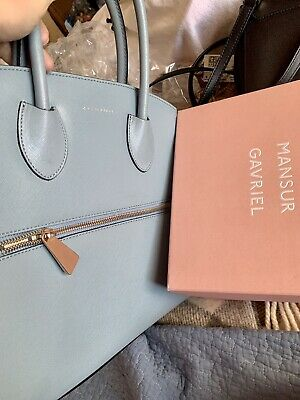 Beautiful Rare COCCINELLE Baby Blue Bag With Golden Coloured Hardware Used Twice • 55£