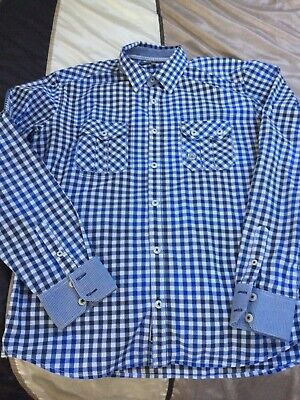 Mens Duck And Cover Shirt - Large • 7.50£