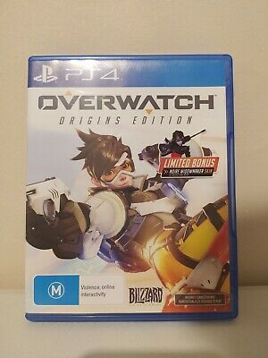 AU13.88 • Buy Overwatch: Origins Edition Playstation 4 PS4 Game PAL