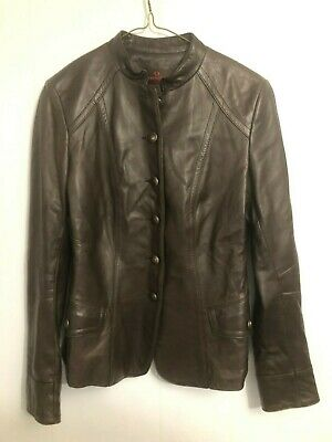 $ CDN75 • Buy Womens Genuine Brown Leather Jacket. Danier Leather. Size Extra Small. Like NEW