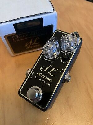 Xotic SL Drive - Overdrive Pedal - Boxed • 75£
