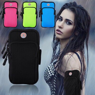 AU19.99 • Buy Universal Armband Pouch Case Sports GYM Bag Strap Cover For V50 ThinQ 6.4  Phone