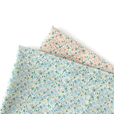 Laminated Cotton Fabric By The Yard Flower Fabric 44  Wide CM Asone Small Flower • 10.85£