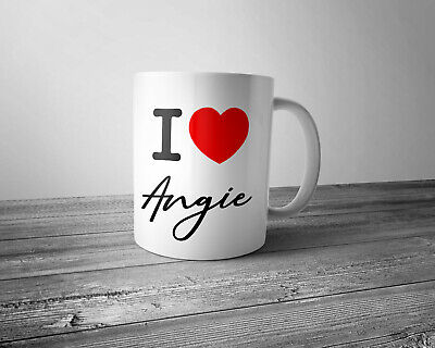 Personalised I Love ....................  Mug • 5.99£