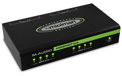 $229.99 • Buy M-Audio MIDISport 4X4 Anniversary Edition 4-in/4-out MIDI Interface - Brand New!