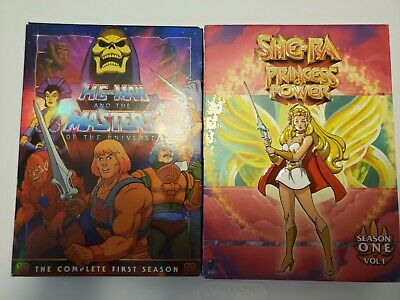 $9.10 • Buy He-Man And The Masters Of The Universe: The Complete First Season + She-Ra S1