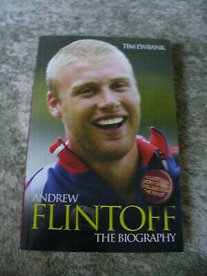 Andrew Flintoff The Biography By Tim Ewbank - 2006 Paperback • 1.50£
