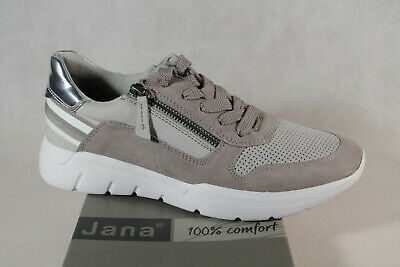 Jana Women's Sneakers Low Shoes Sport Shoes Trainers Grey New • 75.60£