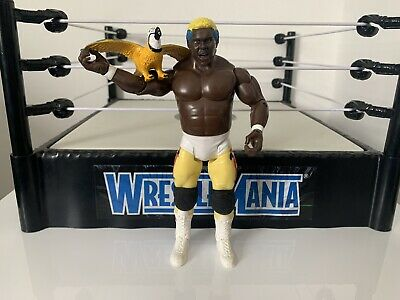 WWE Koko B. Ware Wrestling Figure Classic Superstars With Frankie The Parrot WWF • 29.95£