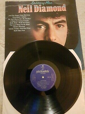 Neil Diamond LP Solitary Man • 2£
