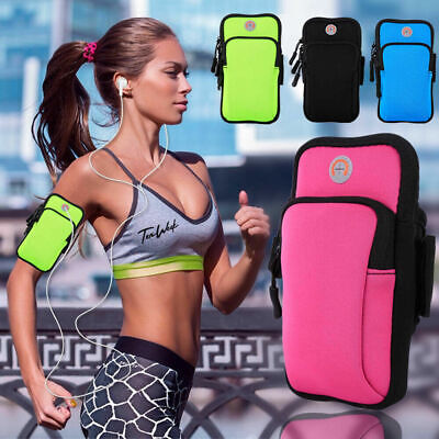 AU19.99 • Buy For LG Huawei Google Armband Pouch Case Sports GYM Universal Phone Bag 4 -6 Inch