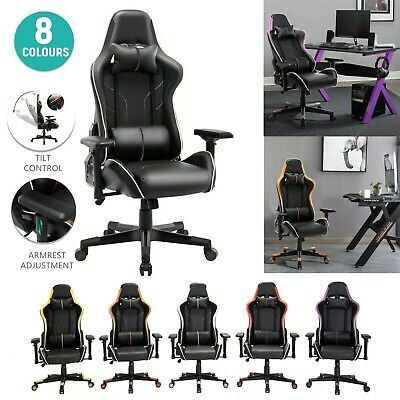 AU179 • Buy Gaming Chair Office Chair Computer Executive Chairs Seating Racing Recliner