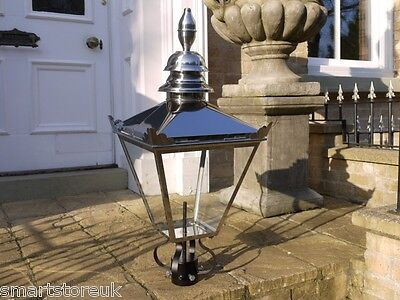 Antique Style Victorian Lantern Stainless Steel Lamp Post Top 3032 • 169.99£