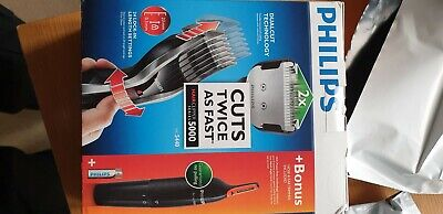 AU95.89 • Buy Philips Series 5000 Hair Clipper HC5440 + Nose And Ear Trimmer