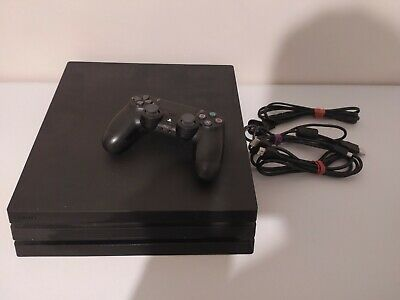 AU349 • Buy Sony PlayStation 4 PS4 Pro 1TB Black Console - Tested & Working!