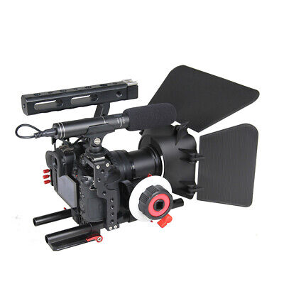 £70.45 • Buy DSLR Video Stabilizer Kit With 15mm Rod Rig Matte Box And Follow Focus- #3