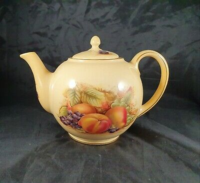 £350 • Buy Rare Aynsley Orchard Gold Teapot Fine Bone China Tea For Two Pot