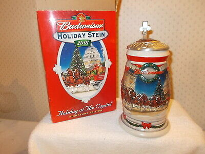 $ CDN25 • Buy  Holiday At The Capital Stein  BUDWEISER  CS455SE  Made In Germany