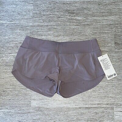 "$ CDN103.80 • Buy Lululemon Speed Up Shorts 2.5"" Women's Size 8 Violet Verbana NWT"