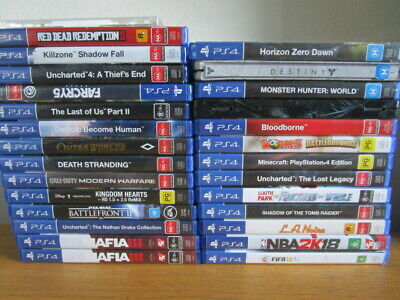 AU20 • Buy PS4 GAMES PlayStation 4 Game Assorted *Choose Your Game*  Ps4 Sony Games VGC**