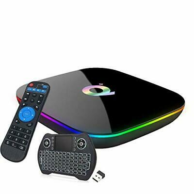 $ CDN147.48 • Buy Android 9.0 TV Box,EASYTONE Q (Q Plus Tv Box 4gb/64gb With Air Mouse Keyboard)