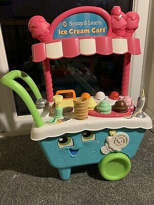 LeapFrog/ Leapster 600700 Scoop & Learn Ice Cream Cart Toy • 18£