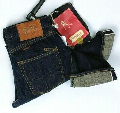 PRPS Jeans Demon Straight Dark Wash Selvedge Japanese Denim 28 W X 34 L • 32.18£