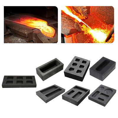 Gold Silver Precious Metal Smelting Ingot Mold High Purity Graphite Mould • 12.29£
