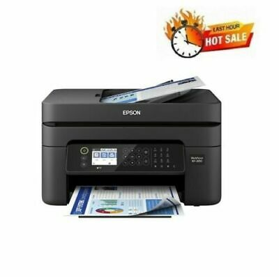 View Details Epson Printer Machine Scanner Fax Copier All-In-One Wireless Home Office WiFi • 119.95$