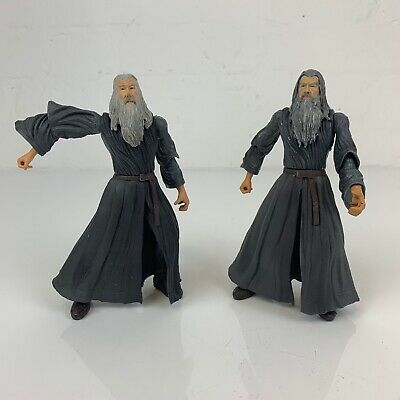 £10.95 • Buy 2 Gandalf LOTR Lord Of The Rings Movable Action Figures Toy Biz Bundle 6' Inch