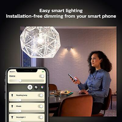 AU54.56 • Buy Philips Hue White Smart Bulb Twin Pack LED [B22 Bayonet Cap] With Bluetooth,