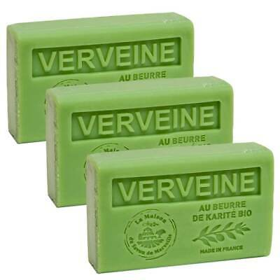 £9.95 • Buy Verbena, French Soaps With Shea Butter, Traditional Savon De Marseille 3 X 125g
