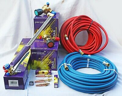 £149 • Buy Oxygen -Propane Gas Cutting Sets 18 -27 -36  Torch + 5 To 30metre Hoses
