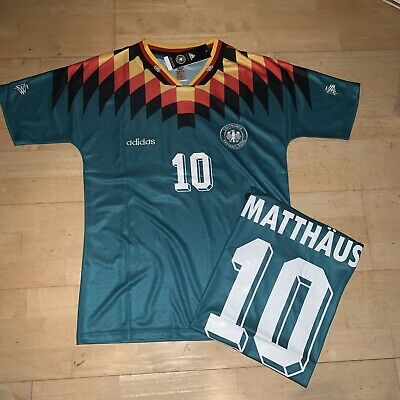 Germany Retro Shirt 1994 Away Size Large BNWT • 35£